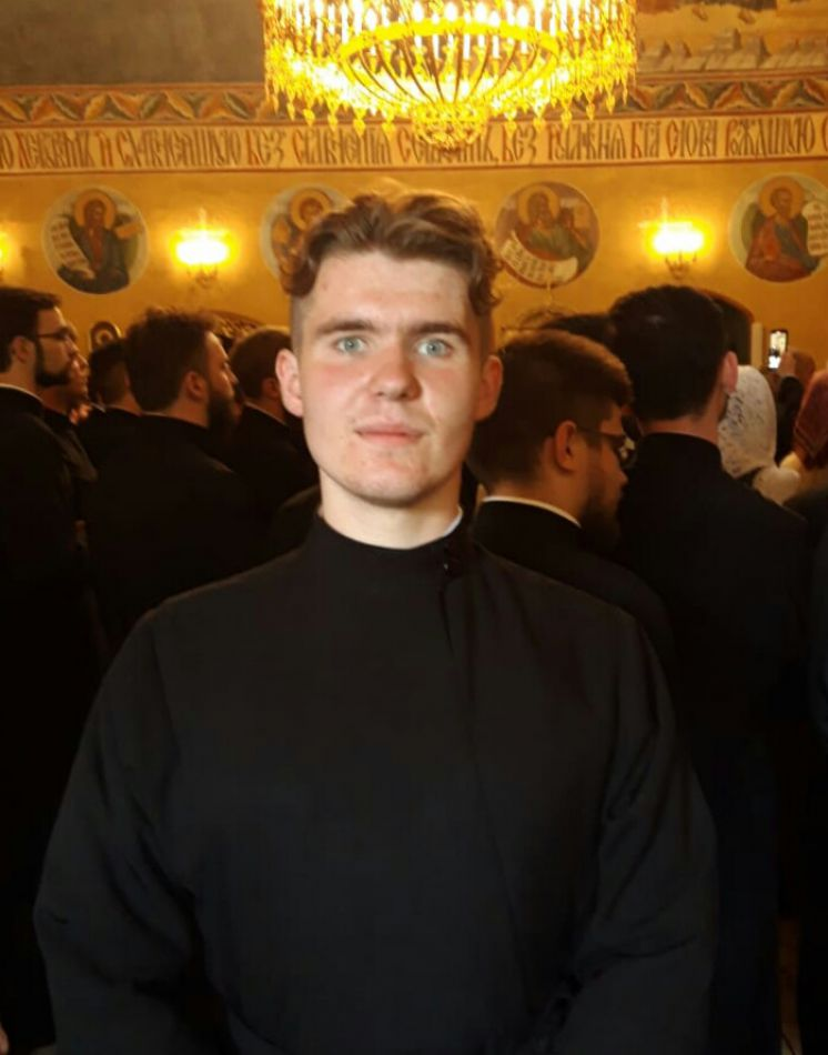 Выпускной в Московской духовной Академии